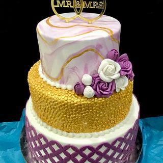 Engagement Cake - Cake by Saniya Khan Sarguru