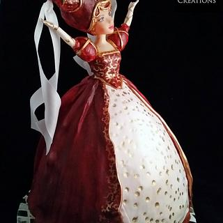 Queen for a day - Cake by Shiny Ball Cakes & Creations (Rose)