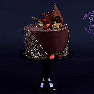 Chocolate cake - Cake by Glorydiamond