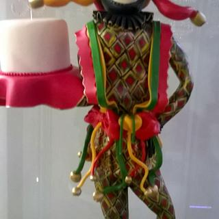Harlequin 30th - Cake by Yve mcClean