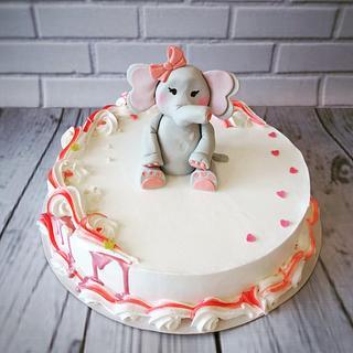 Elephant cake - Cake by Dijana