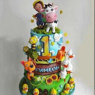 Lola and friends - Cake by Tanya Shengarova