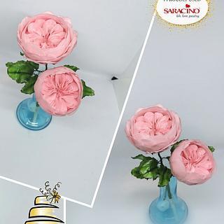 David Austin (english rose)  - Cake by Tsanko Yurukov