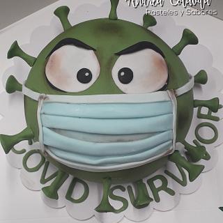 Covid 19 cake!!!!!