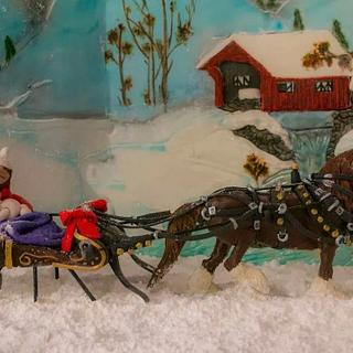 Sleigh ride in Frostington