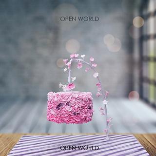 Blossoms - Cake by Seema Bagaria