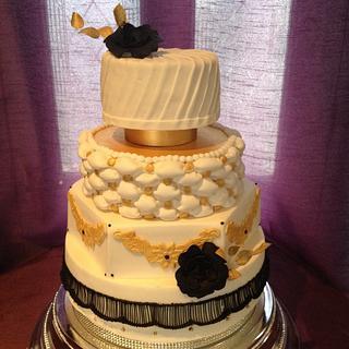 Glitz and glamour  - Cake by dawn