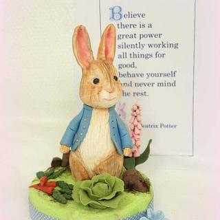 Peter Rabbit topper