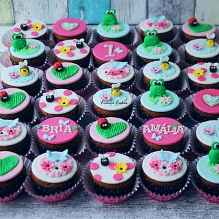 Cupcakes Bria Amalia - Cake by Kmeci Cakes