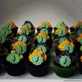 Cupcakes with Love - Cake by kutukutuyense