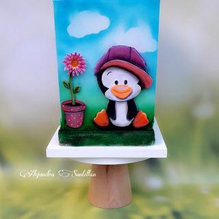 Mi pingüino canchero😁