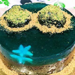Island cake - Cake by Treatyourpalates
