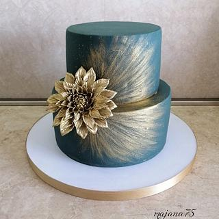 Green elegance - Cake by majana75