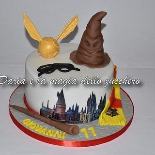 Harry Potter cake - Cake by Daria Albanese