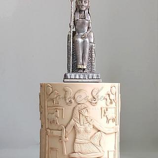 Egipto - Cake by Natalia Casaballe