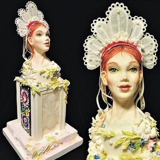 my folklore bride for Expo Sweet 2020 Warszawa