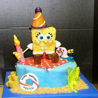 SpongeBob Birthday Party - Cake by Sweets By Monica
