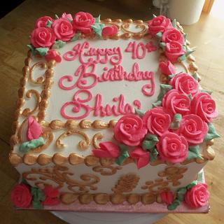 Sheila's 40th