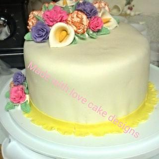 Wilton Course 3 cake final