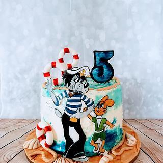 Just wait rabbit - Cake by alenascakes