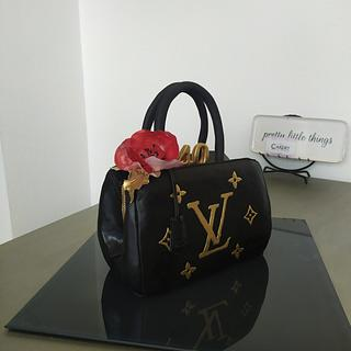 3D Louis Vuitton Purse Cake - Cake by LaniesCakery