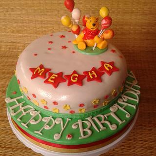 Winnie the Pooh - Birthday Cake