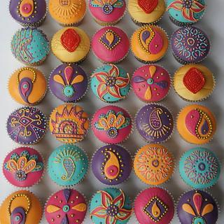 Indian Princess Cupcakes