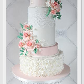 Wedding cake - Cake by Berber's Cakes & Moulds