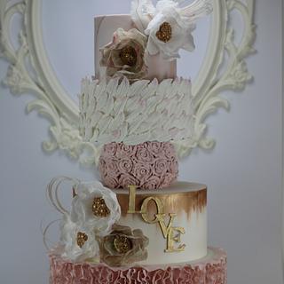 Wedding Cake  - Cake by Brana