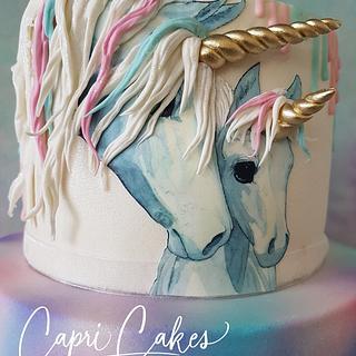 unicorncake - Cake by Claudia Kapers Capri Cakes