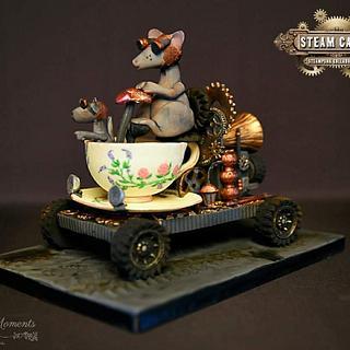 Steamy Mice - Cake by Doreen Zilske
