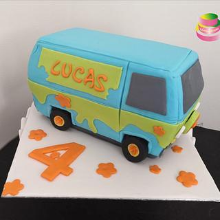The Mystery Machine Cake