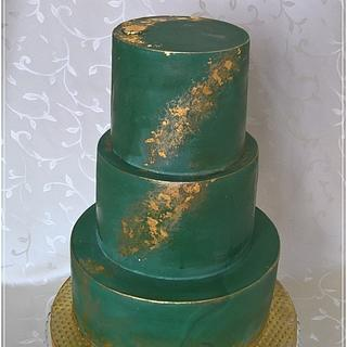Elegant cake for man