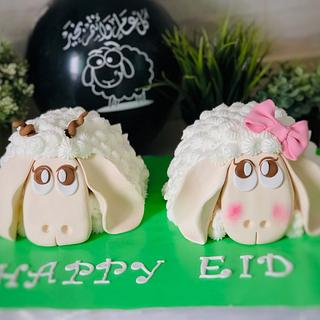 Sheep cake by Doaa zaghloul