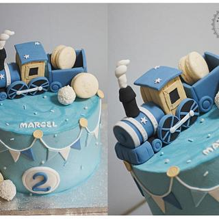 Train cake - Cake by Paula