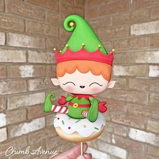 Christmas Elf - Cake by Crumb Avenue