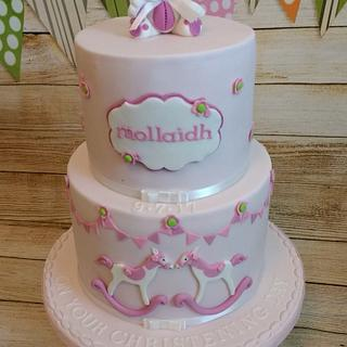 Mollaidh's Christening Cake
