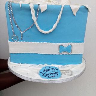 shopping bake cake
