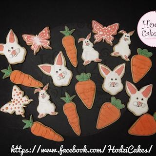 Easter Cookies 🐇🥕🦋