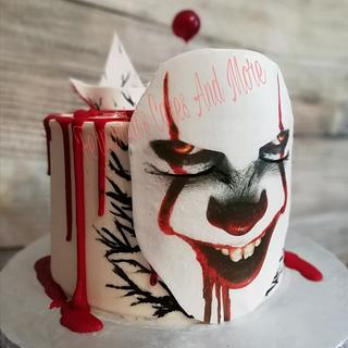 "Pennywise ""IT"" Cake"