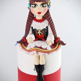 Krakowianka - for 'Sugar Dolls Around the World' Collaboration