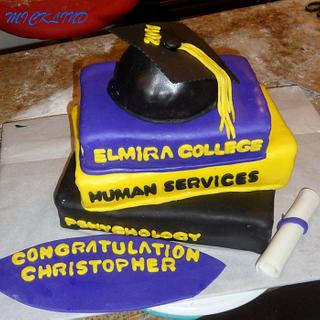 GRADUATION CAKE - Cake by Linda