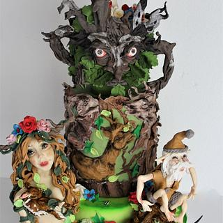 Enchanted woods , Around the world in sugar collaboration