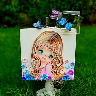Alice and the butterflies