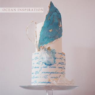 ocean inspiration cakes