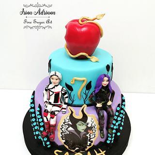 Descendants - Cake by Irina-Adriana
