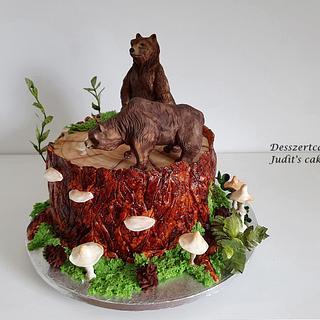 Bear cake - Cake by Judit