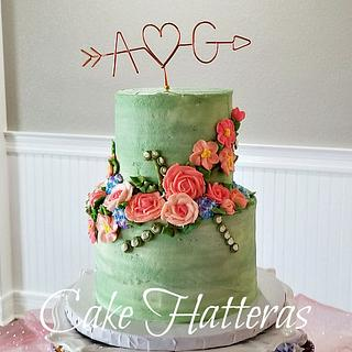 Buttercream Wedding Cake 2020