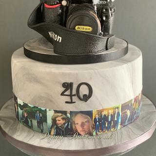 Nikon Camera cake - Cake by Penny Sue