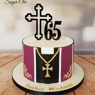 Holy 65th Birthday Cake